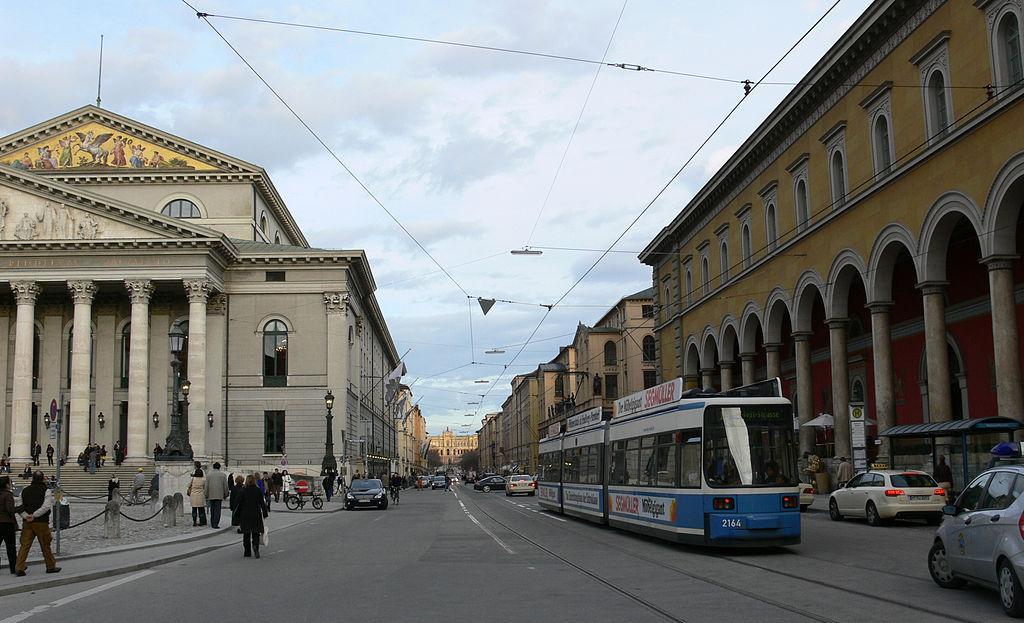 Maximilianstrasse в Мюнхене / Фото wikipedia.org