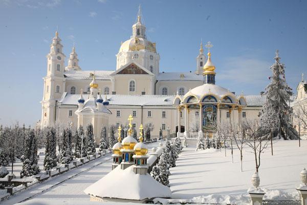 Почаевская лавра / pochaev.org.ua
