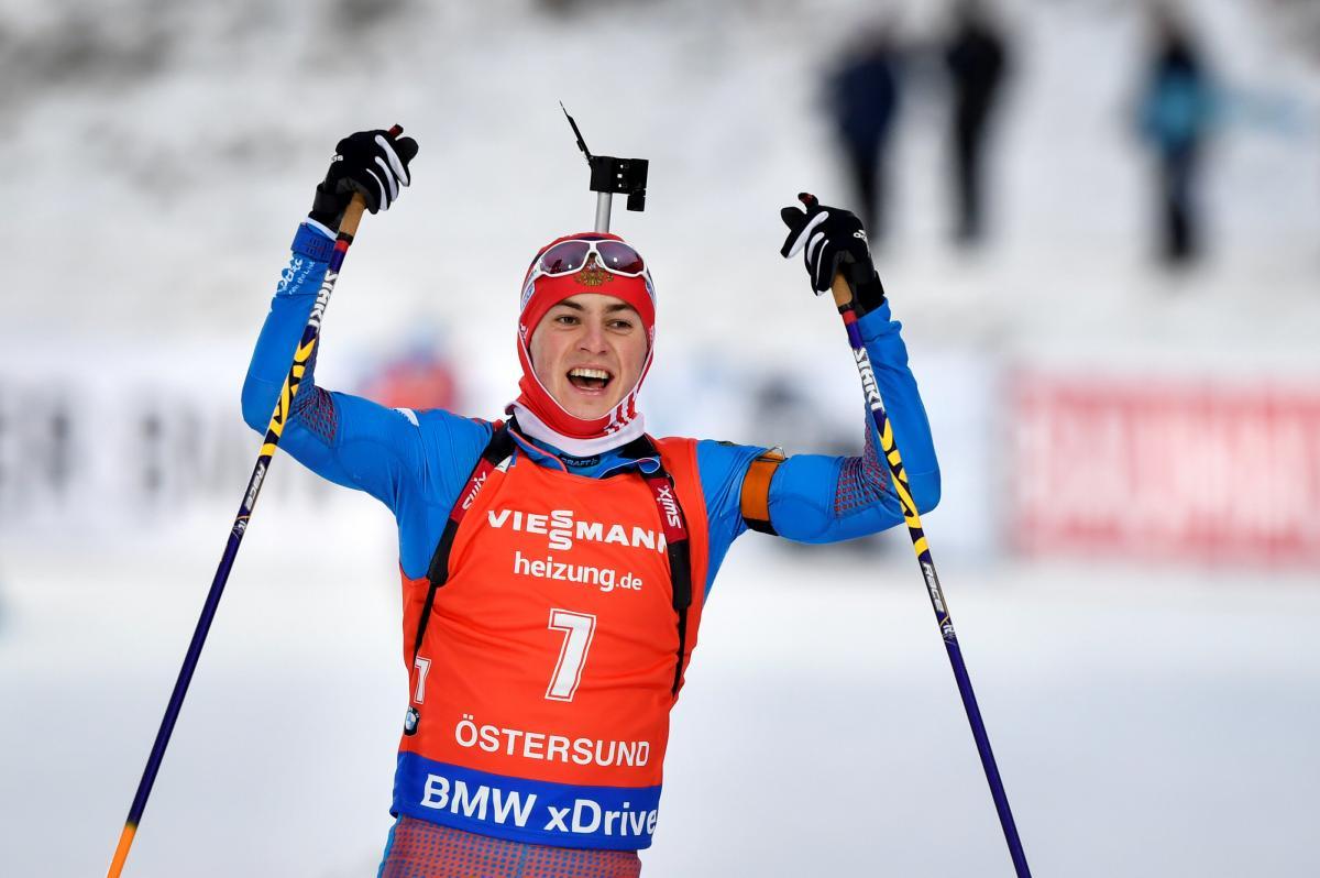Бабиков выиграл первую гонку по биатлону в новом международном сезоне / Спорт-Экспресс