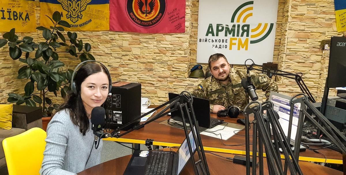 В Киеве радиостанция начнет работать на волне 94,6 FM / фото facebook/armyuaFM
