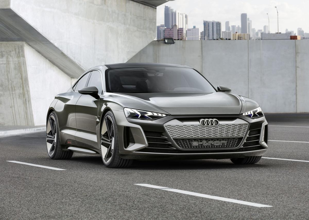 В США представили немецкого конкурента Tesla / фото audi-mediacenter.com