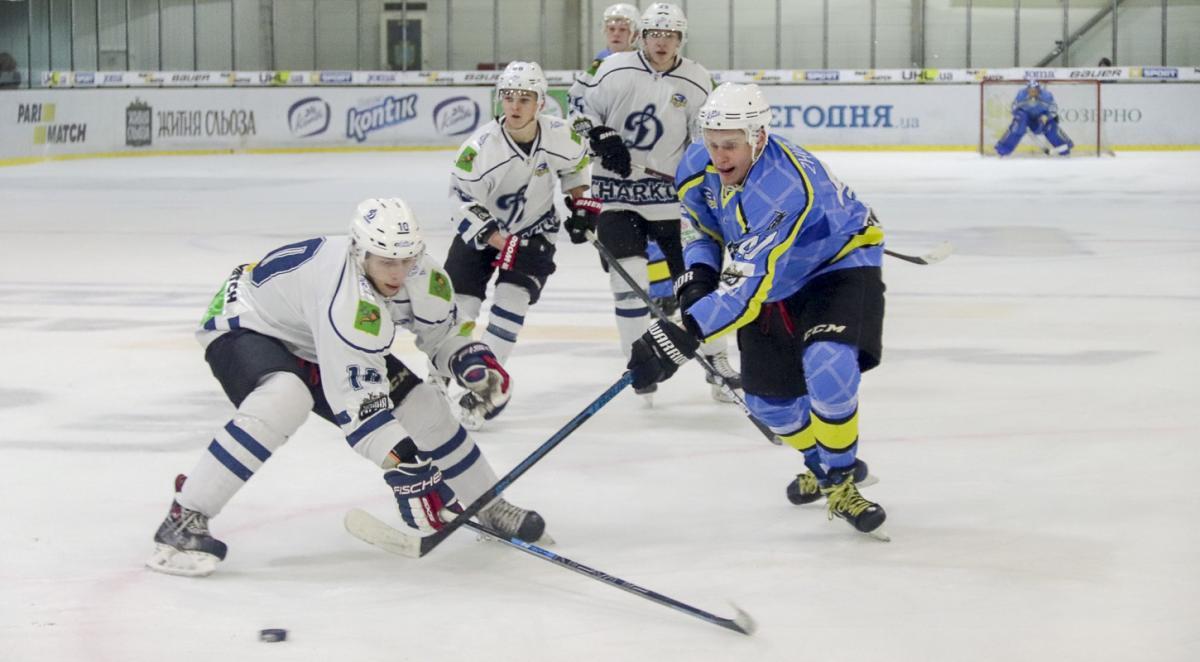 Днепр без проблем разобрался с Динамо в очередном матче регулярного чемпионата УХЛ / uhl.ua