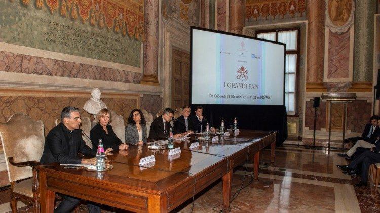 В Риме презентовали документальный сериал «Великие Папы» / vaticannews.va