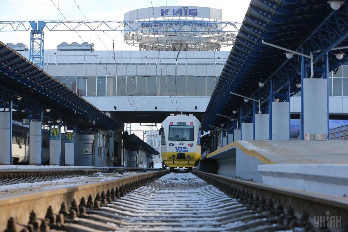 Експрес Kyiv Boryspil Express зупинятиметься на Видубичах / фото УНІАН