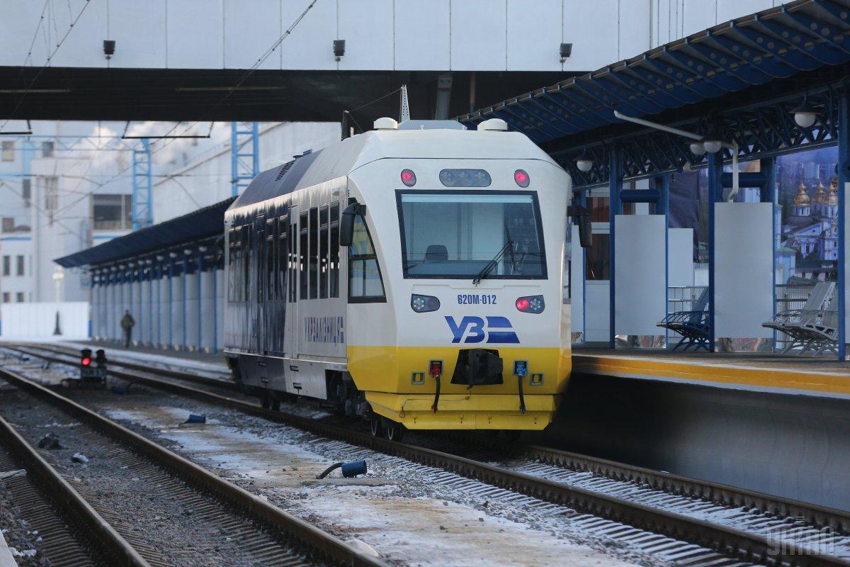 Несмотря на некоторые недоработки, запуск железнодорожного экспресса Kyiv Boryspil Express все же увенчался успехом / Фото УНИАН