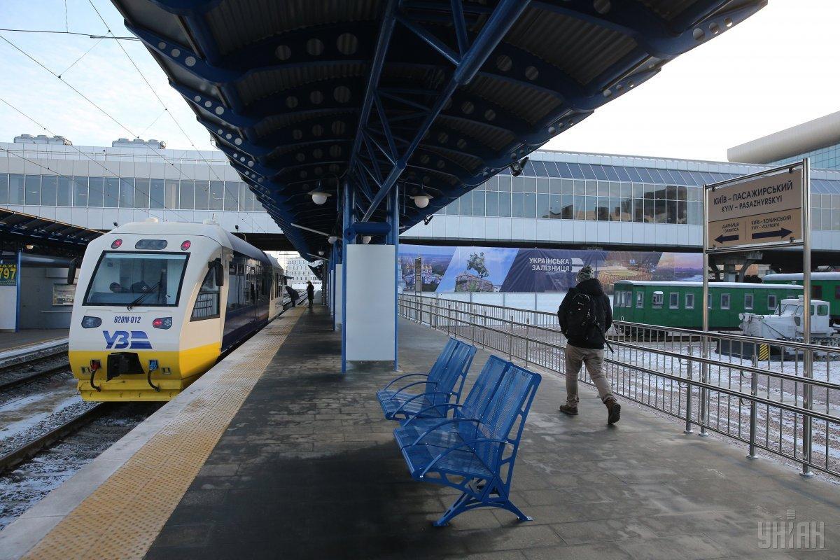УЗ скоротила рейси швидкісного експреса Kyiv Boryspil Express / фото УНІАН