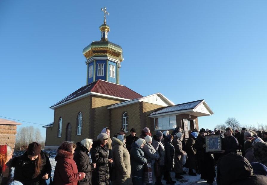 В храм прибыла чудотворная Борзнянская икона Божией Матери / orthodox.cn.ua