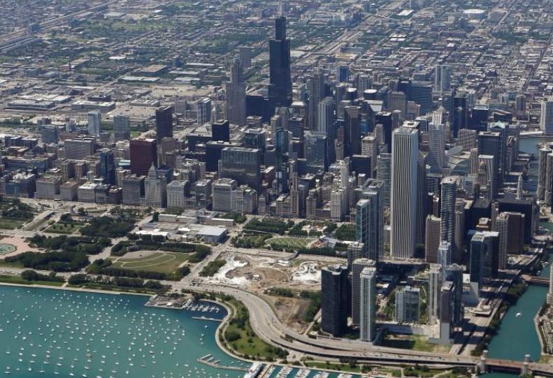 Американский город Чикаго / REUTERS