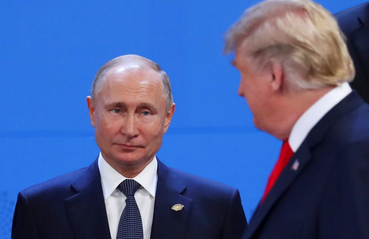 Дональд Трамп и Владимир Путин в Буэнос-Айресе / REUTERS