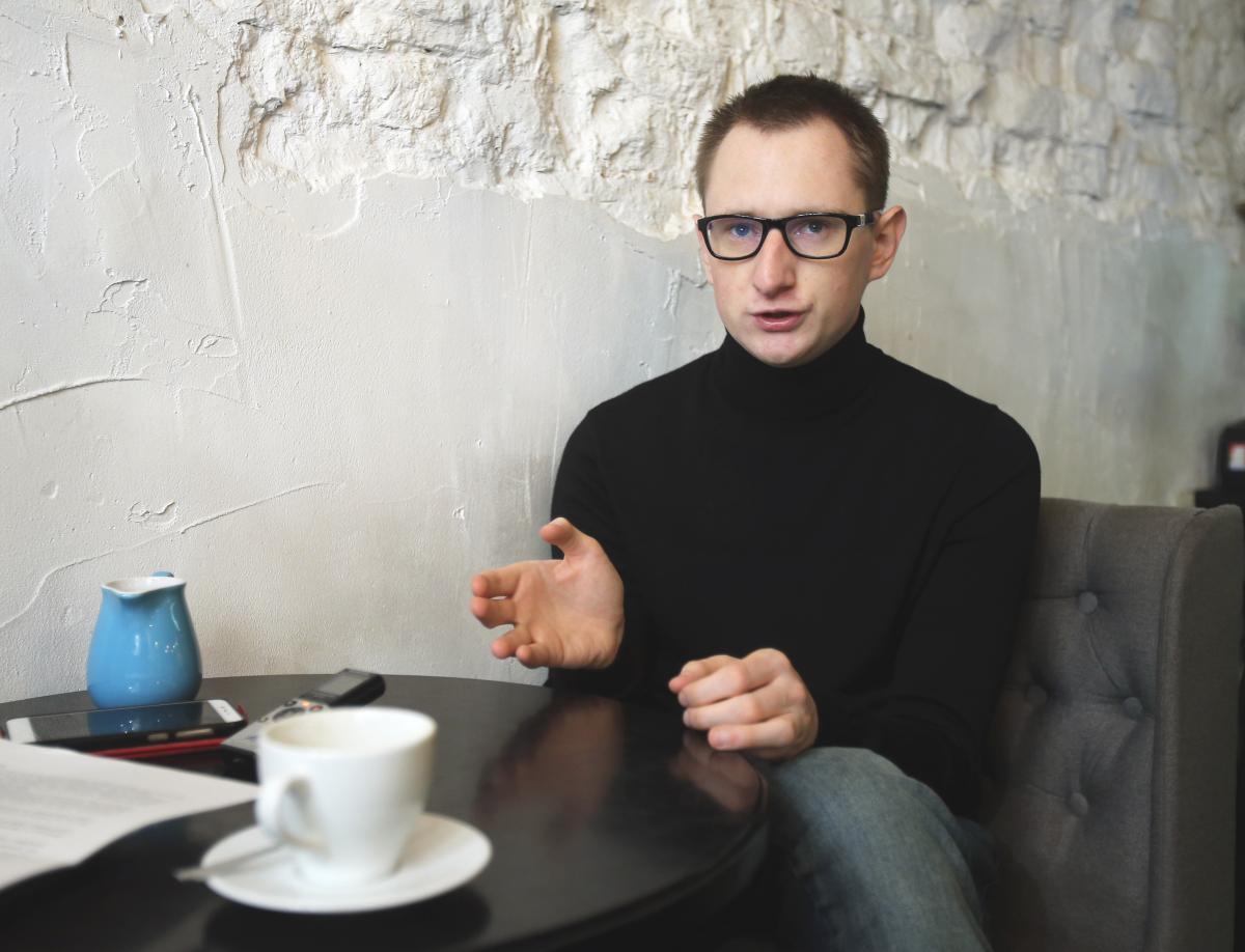 """Грицюк: """"Сложно мне было написать монолог для украинского президента"""" / фото УНИАН"""