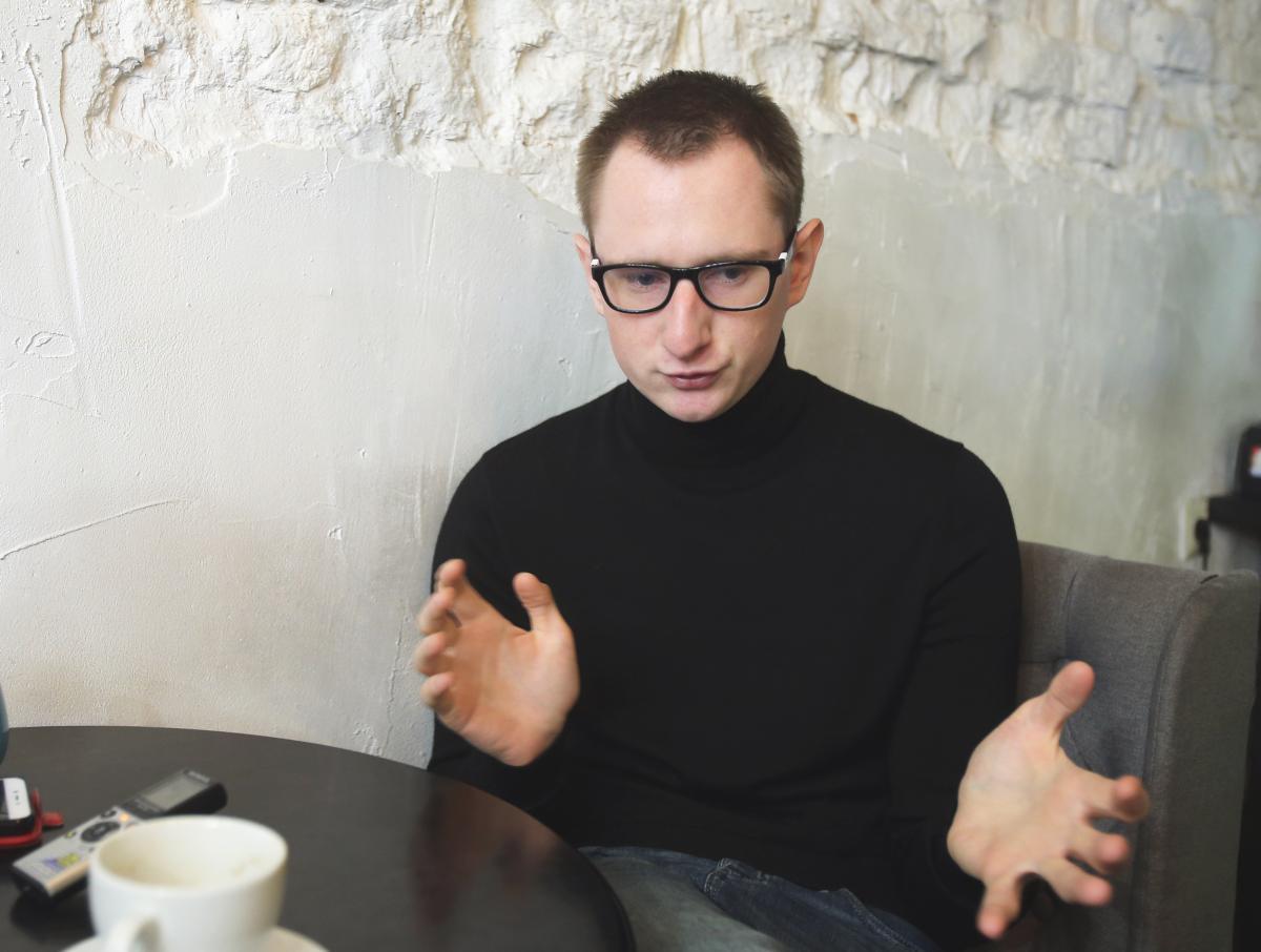 Грицюк снял первое в украинском кинематографе полнометражное псевдодокуметальное кино / фото УНИАН