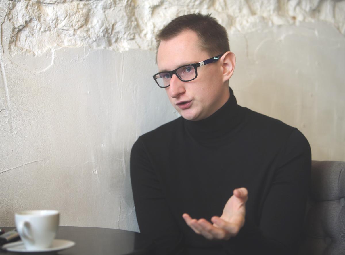 Грицюк во время съемок параллельно занимался другими своими проектами / фото УНИАН