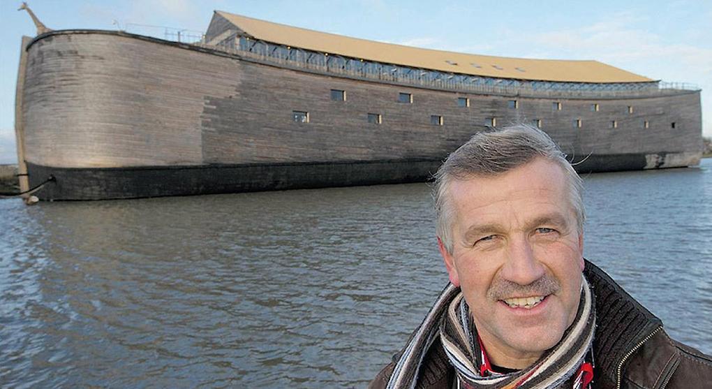 Голландський конструктор і бізнесмен Йохан Хейберс побудував ковчег / jta.org