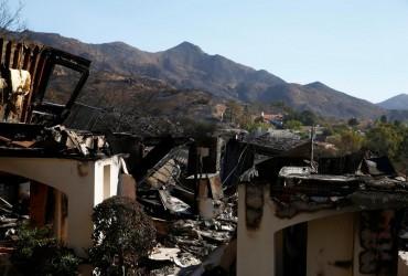 Число жертв лісових пожеж у Каліфорнії зросло до 44 осіб