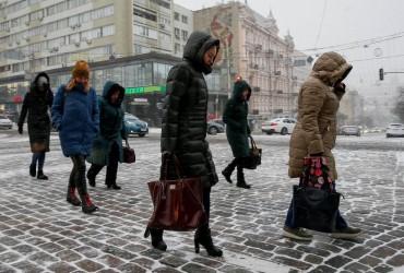 В Україні сьогодні буде холодно, місцями пройдуть дощі і сніг (карта)