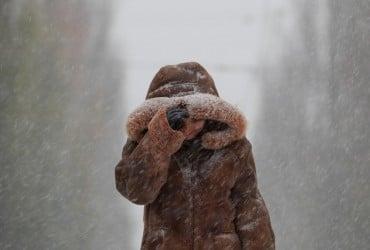 У Києві сьогодні пройде сніг, температура повітря до +1°