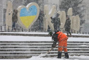 Перший сніг у Києві: столицю огорнула снігова завіса (фоторепортаж)