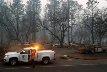 Число жертв лісових пожеж у Каліфорнії зросло до 59 осіб (фото, відео)