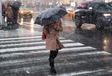 В Украину идет циклон с дождем и мокрым снегом