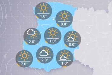 Прогноз погоды в Украине на пятницу, утро 16 ноября