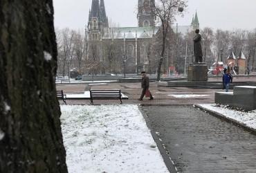 У мережі з'явилися фото першого снігу у Львові