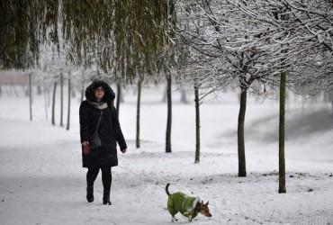 В Киеве завтра без осадков, температура днем до -5°