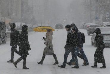 У Києві сьогодні пройде сніг, вдень температура 0°