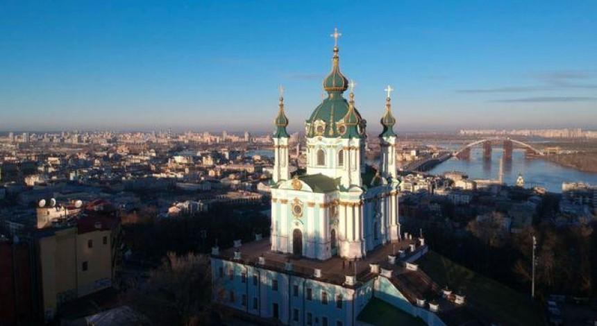Неизвестные пытались поджечь Андреевскую церковь