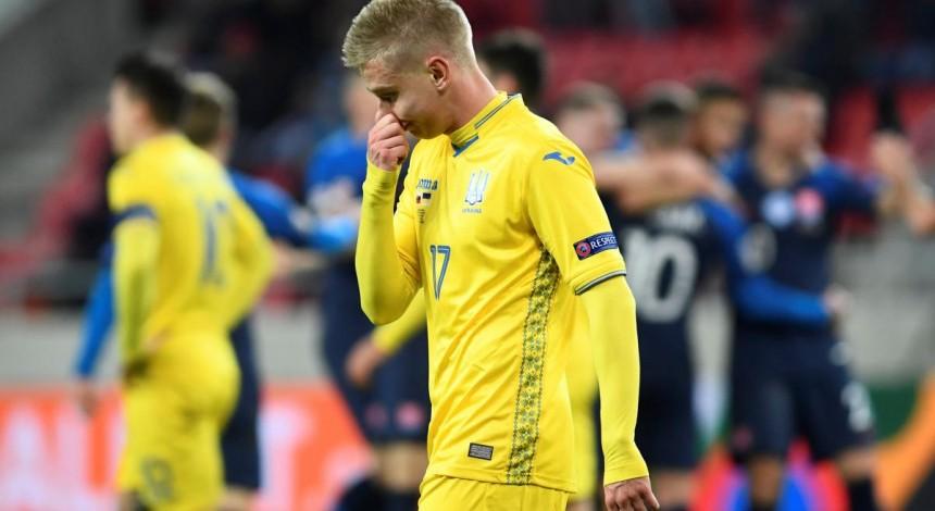Провал сборной в Словакии: последний раз Украина пропускала 4 гола в официальной игре 12 лет назад