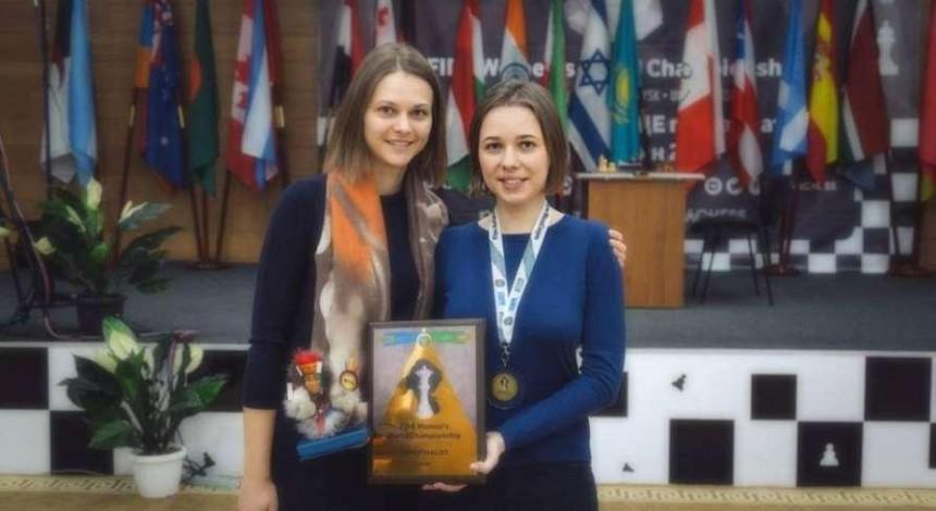 Українка Марія Музичук отримала бронзову медаль чемпіонату світу з шахів