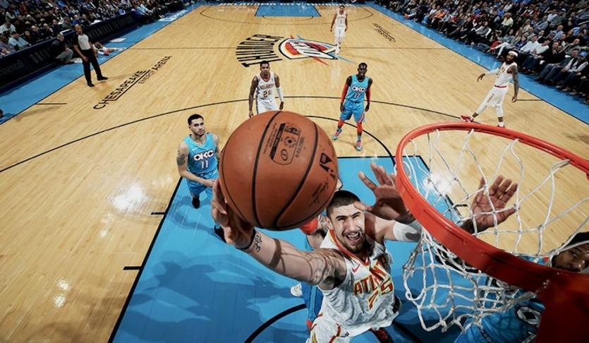 Алексей Лэнь сделал 1000-й результативный бросок в карьере игрока НБА / Reuters