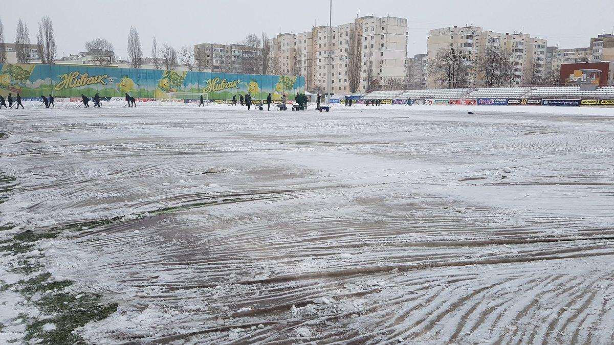 Матч Десны и Зари в УПЛ может начаться позже обозначенного срока / twitter.com/FCZoryaOfficial