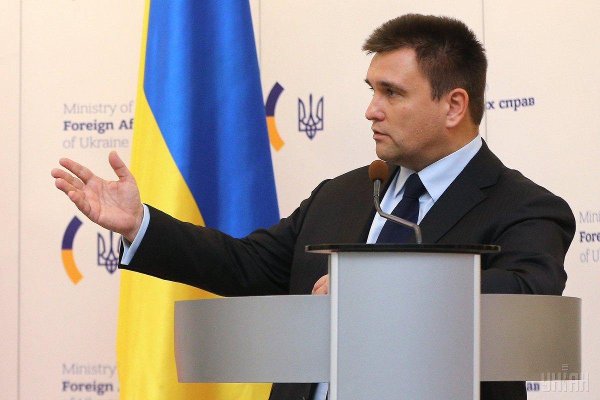 Klimkin met with his German counterpart in Kyiv on January 18 / Photo from UNIAN