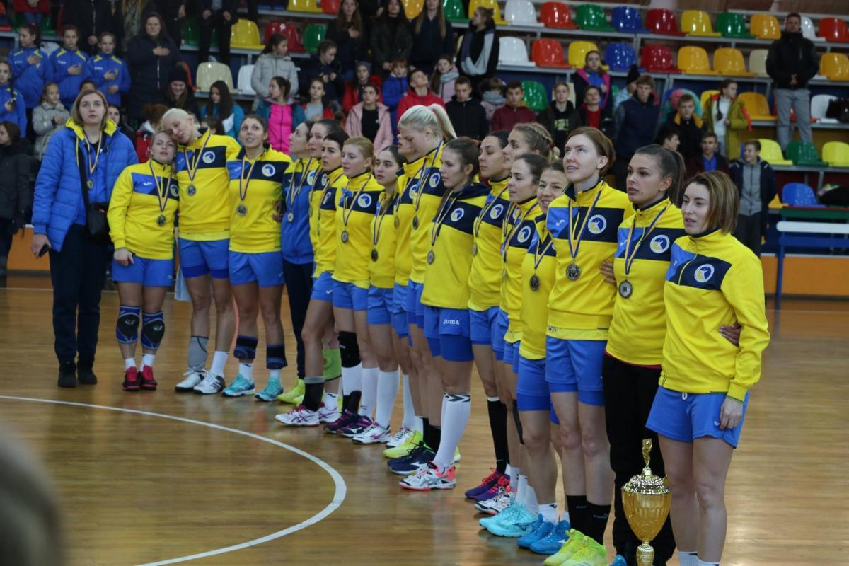 Женская сборная Украины выиграла матч отбора ЧМ-2019 у команды Косово / handball.net.ua