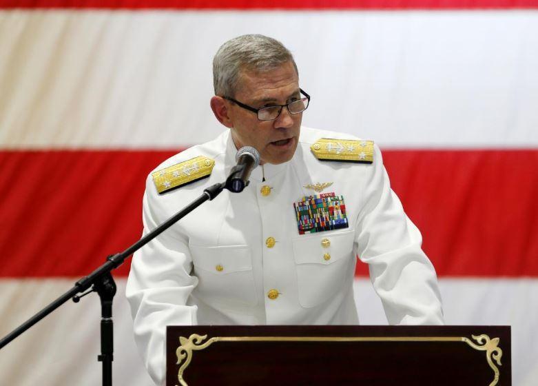 Командующего Пятым флотом ВМС США Скотта Стирни нашли мертвым / REUTERS