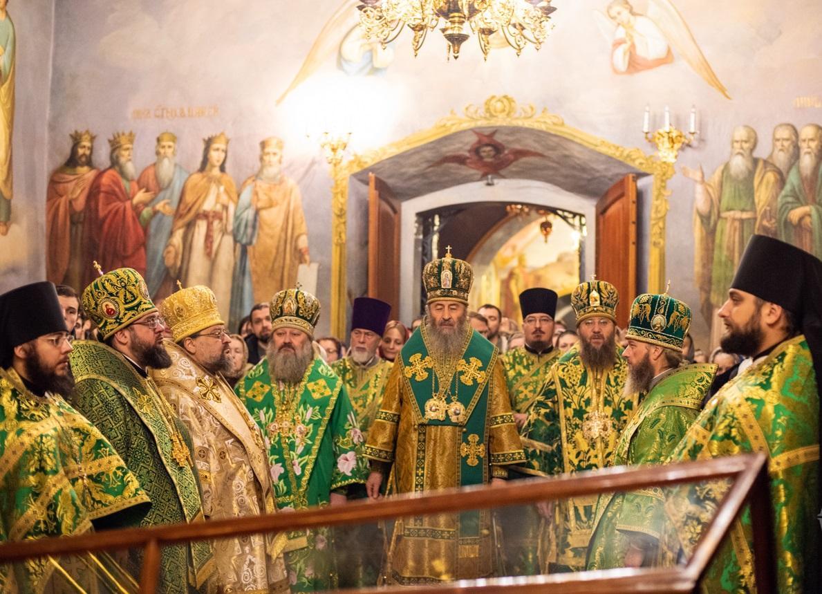 В Киево-Печерской лавре отмечают день памяти преподобного Варлаама / news.church.ua