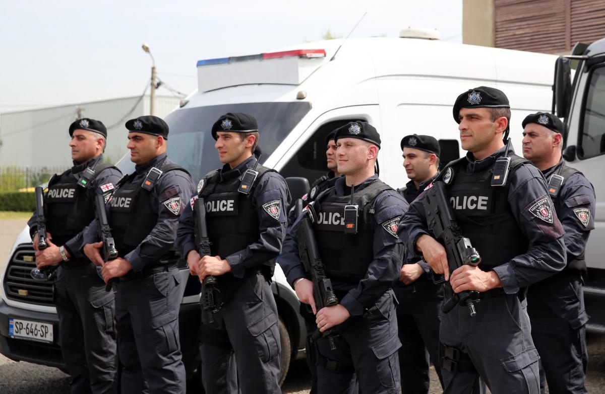 Грузинские силовики задержали украинцев / иллюстрация - Facebook - Security Police 125