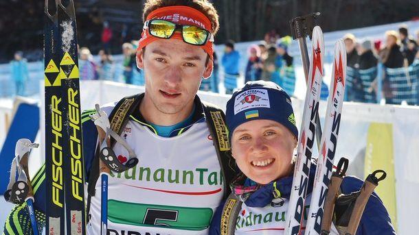 Артем Тищенко и Анастасия Меркушина выиграли бронзу в Поклюке / biathlon.com.ua