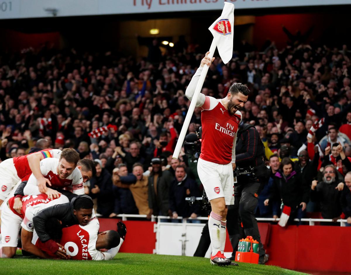 Арсенал - Тоттенхэм / REUTERS