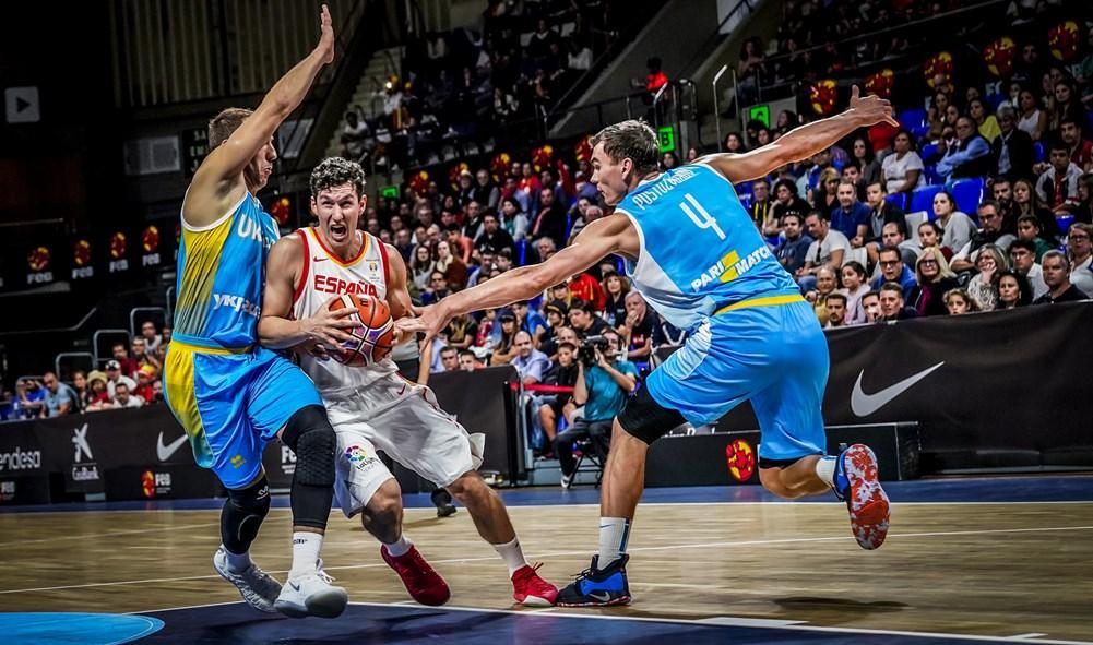 Іспанія - Україна / fiba.basketball