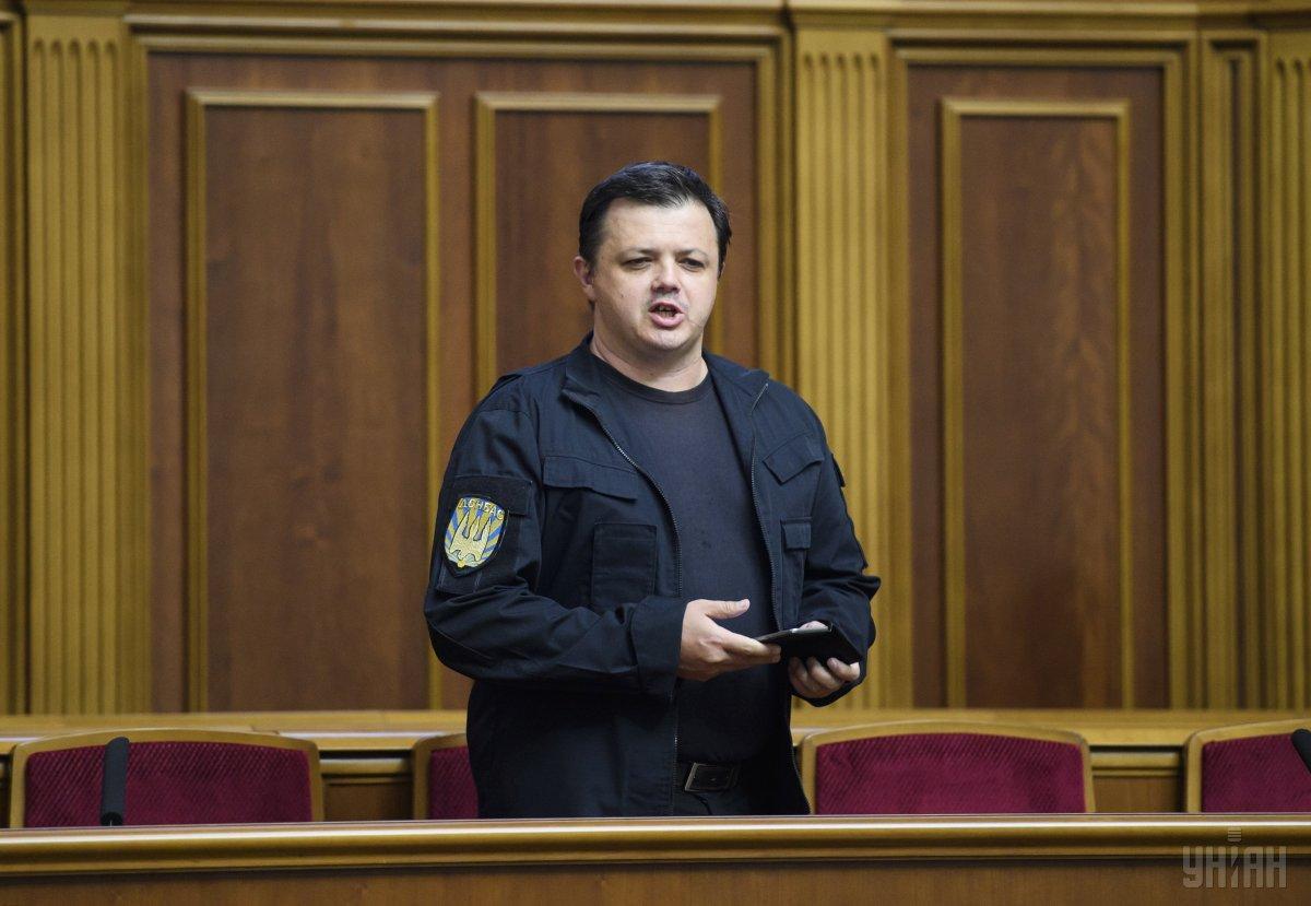 """По словам Семенченко, его госпитализировали с диагнозом """"мерцательная аритмия"""" / фото УНИАН"""