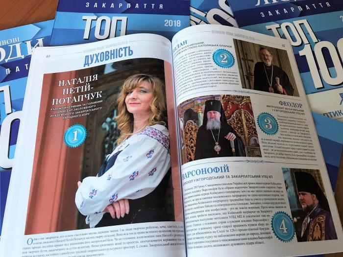 ТОП-100 впливових закарпатців / m-church.org.ua