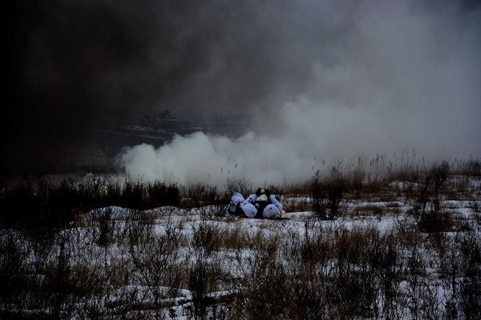 Від початку доби бойовики двічі обстрілювали позиції ЗСУ на Донбасі / фото facebook.com/theministryofdefence.ua