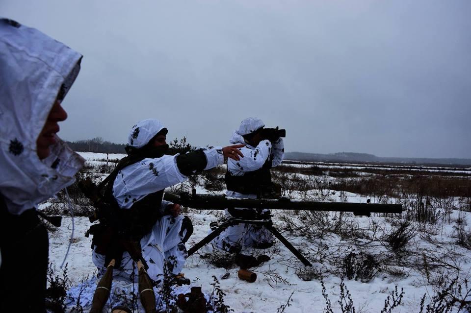 За минулудобужоден український військовий не постраждав / фото facebook.com/theministryofdefence.ua