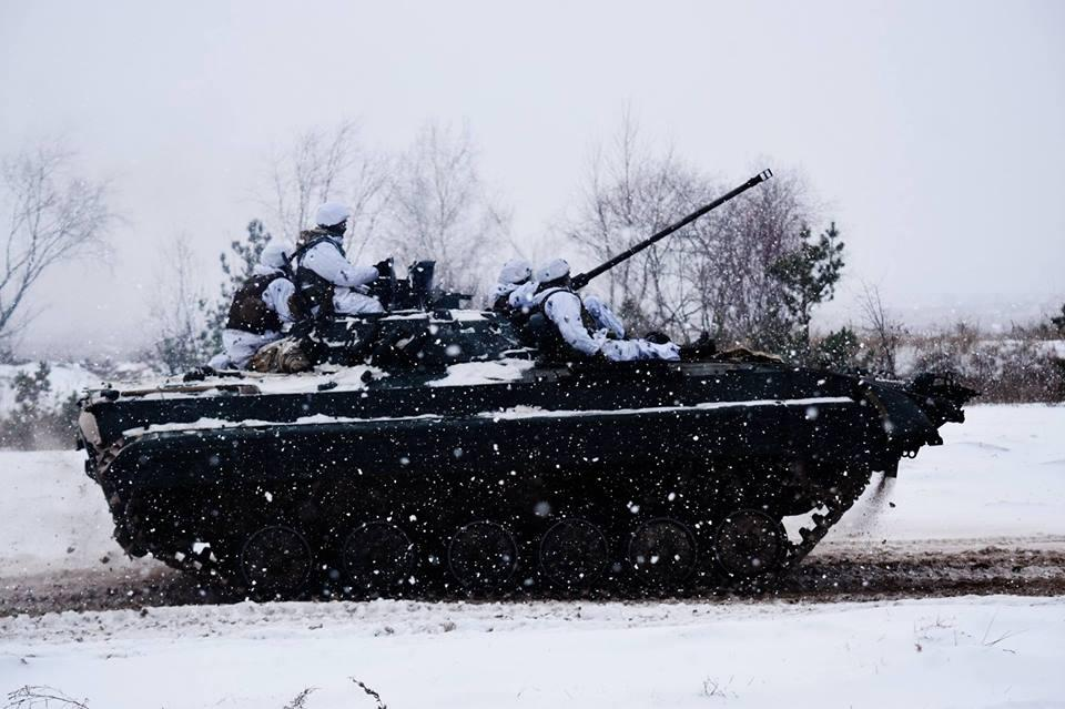 Про дії збройних формувань Російської Федерації повідомлено представників ОБСЄ/ фото facebook.com/theministryofdefence.ua
