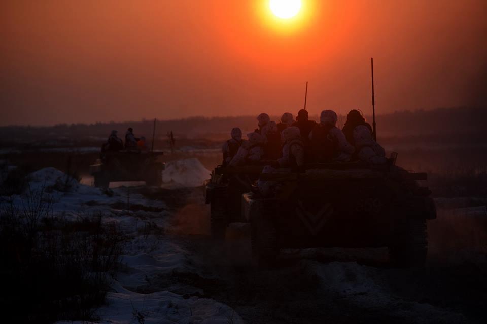 На Донбассе с начала суток вражеских обстрелов не зафиксировано / фото facebook.com/theministryofdefence.ua