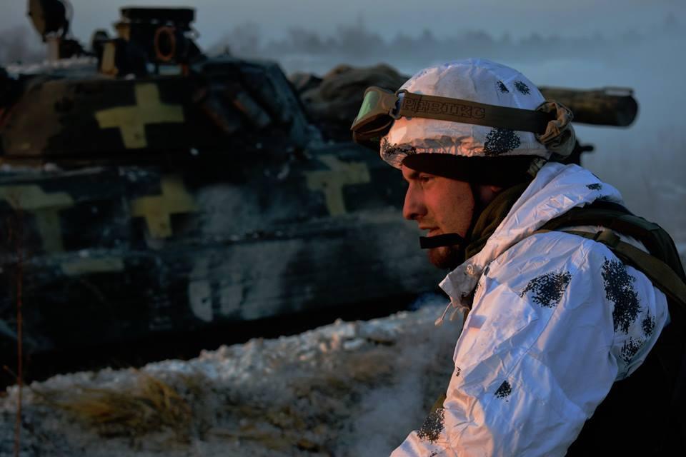 Українські військові продовжують контролювати лінію зіткнення / фото facebook.com/theministryofdefence.ua