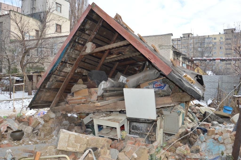 Разрушение произошло в результате взрыва природного (бытового) газа / фото пресс-служба ГСЧС