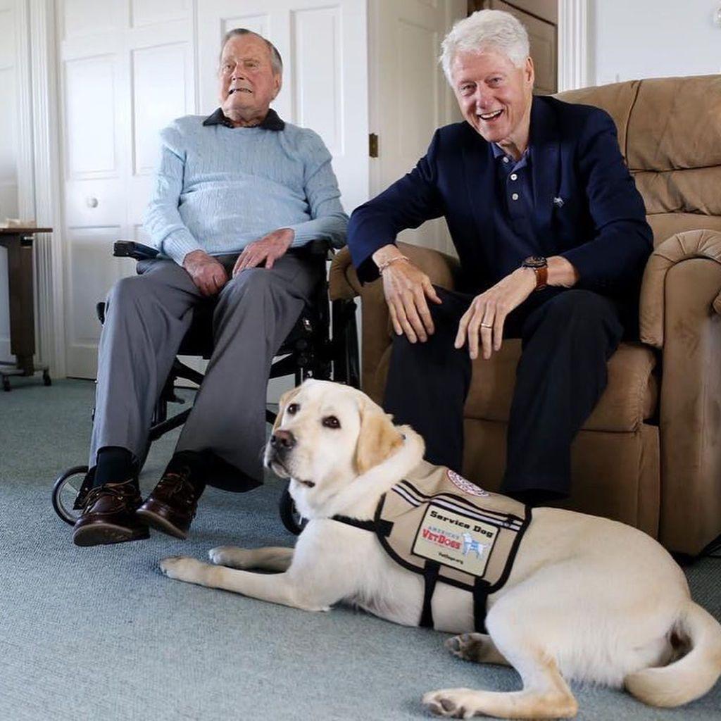 Салли был компаньоном Буша-старшего с июня этого года \ ТСН