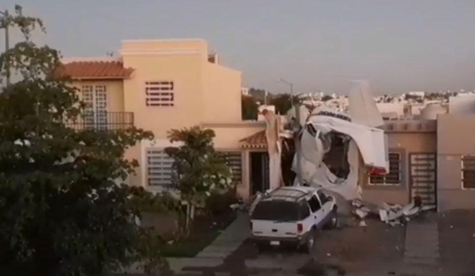 Жители восьми домов в этом районе были эвакуированы / noticieros.televisa.com